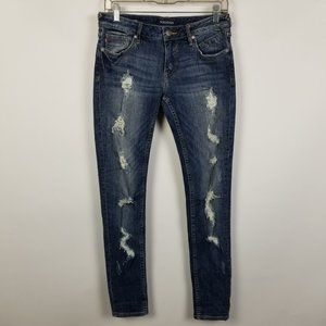 Vigoss The Jagger Skinny Distressed Jeans 27x30